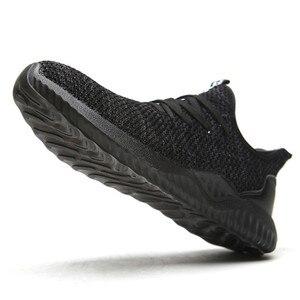 Image 3 - DEWBEST Lavoro Lavoro scarpe traspirante moda Sport, Accessori sicurezza scarpe di protezione, di sicurezza stivali scarpe per gli uomini