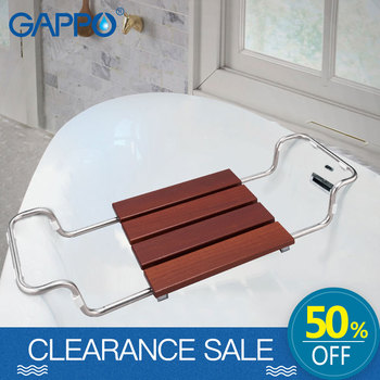 GAPPO Wall Mounted Shower Seats shower Stool toilet Bath bench Shower Faucets bath tub mixer rainfall shower set