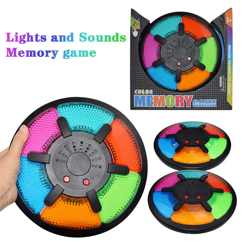 Creativity Educational Memory Game With Lights And Sounds Toy Quiz Game Fuuny Toys For Children And Adult 30LY18