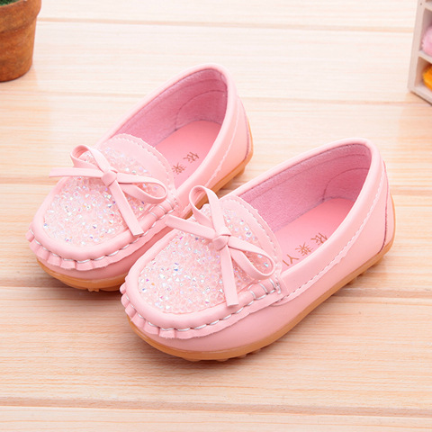 Breathable Children shoes Baby Candy colors Peas a pedal lazy casual shoes boys girls sports sneakers kiddie Bow Non-slip shoes