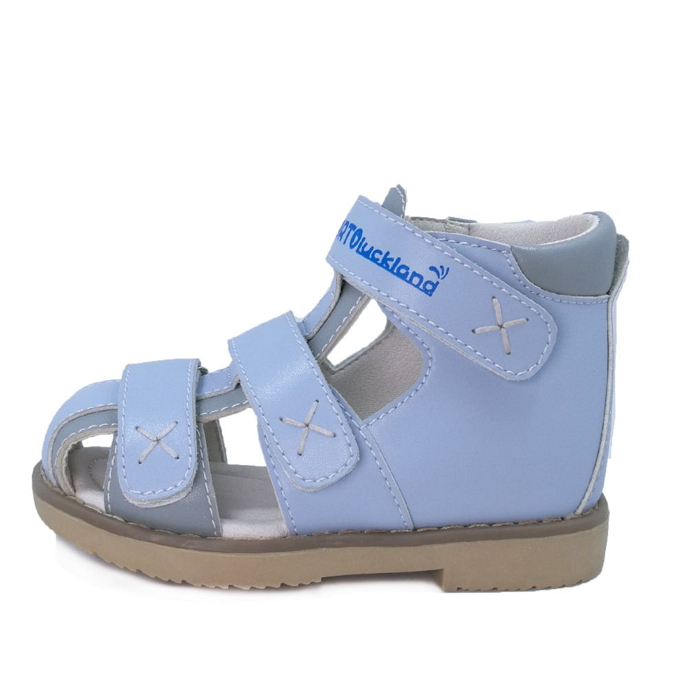 Kinder Geschlossen Kappe Orthopädische Schuhe Baby Junge Leder Blau Sandale Schuhe Orthopädische Schuhe Für Kinder