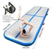 Inflatable games Air Trampoline Inflatable gymnastic mat Air track Tumbling Yoga Track For Home use Training Taekwondo Cheerlead