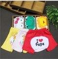 1 unids/lote algodón 2014 de Cinco estrellas de dibujos animados pantalones del bebé muchacha del muchacho de los niños ropa de bebé de las polainas PP Pantalones Pantalones