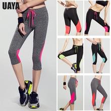 UAYA 2019 спортивные штаны компрессионные колготки женские тонкие спортивные костюмы женские штаны для йоги леггинсы фитнес спортивные колготки