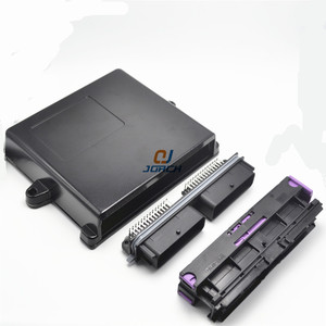 Image 3 - 1 set 56 pin way automotive aluminum ecu enclosure box with matching FCI male and female connector