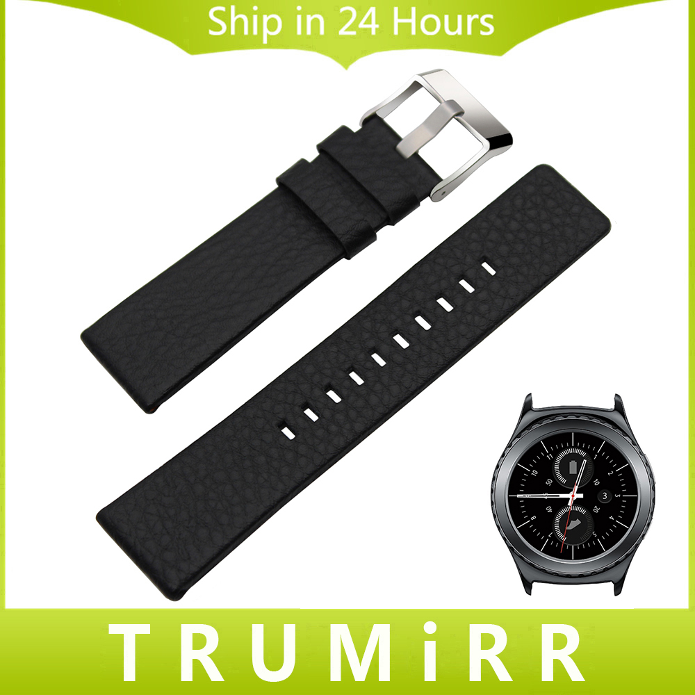 20mm Italy Genuine Leather Watchband for Samsung Gear S2 Classic R732 R735 Moto 360 2 42mm Men Ticwatch 2 Watch Band Wrist Strap nylon sports watch band strap adapters for samsung galaxy gear s2 r720 watch band tools for samsung galaxy gear s2 r720