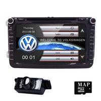 8Car DVD GPS builtin mic CanBus support fit Original VW UI for VW Volkswagen POLO PASSAT B6 Golf 5 6 SWC BT RDS Radio FM/AM Cam