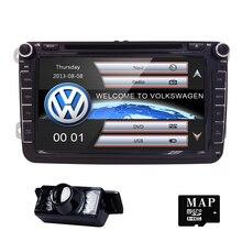 8″Car DVD GPS builtin mic CanBus support fit Original VW UI for VW Volkswagen POLO PASSAT B6 Golf 5 6 SWC BT RDS Radio FM/AM Cam