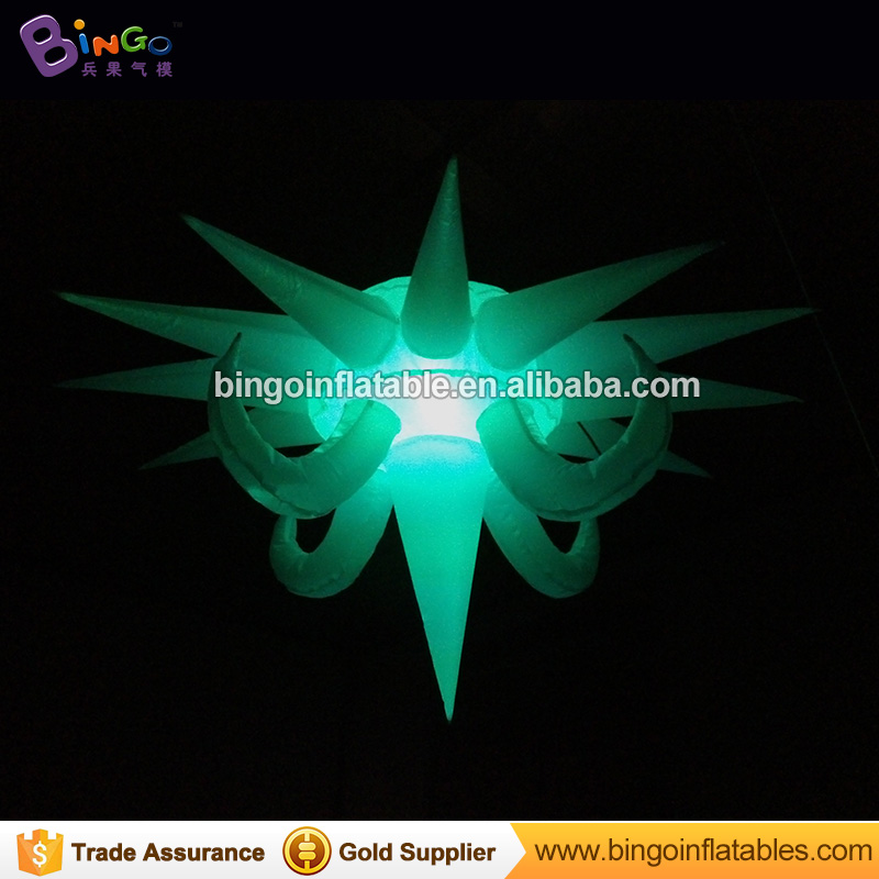 1.5m Advertising inflatable star sky led lighting products inflatable lighting star with ...