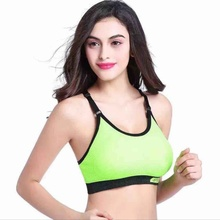 Female Yoga Clothing Stretch Bra Racerback Padded Workout Women Sports Bra Tops
