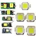 1pcs 10W 20W 30W 50W 100W 30mil White 6500K Warm White 3500K LED Night Light Lamp Bulb Chip Part +10w 20w 30w 50w 100w AC Driver
