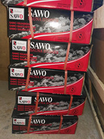 Free Shipping for Imported sauna stone for sauna room accessories 18kgs/carton