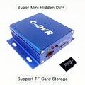 1ch portátil super mini c-dvr video/audio recorder motion detection para promoção câmera ip apoio tf sd cartão