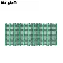 MCIGICM 10 шт. двухсторонний Прототип PCB diy универсальная печатная плата 3x7 см