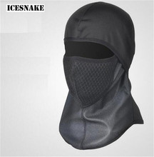 ICESNAKE Filter Mask Sport Ski Masks Motorcycle Winter Cycling Face Mask Bicycle Riding Running Thermal Fleece Face Mask цены
