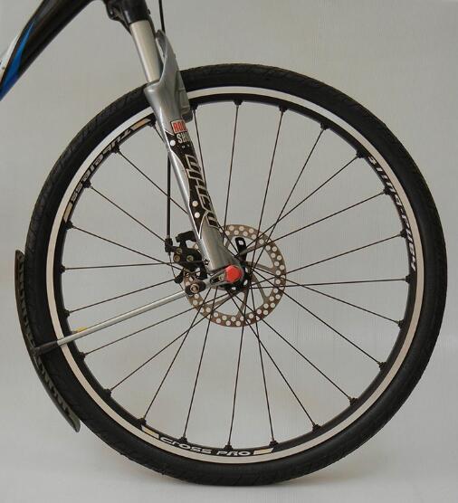 Bike Bicycle Fender for MTB Mountain Bike Road Bike BMX Mud Guard Cool Fender 26 bike wheel with tire and tube for mtb mountain bike road bike bicycle quick release hub spoke reflector