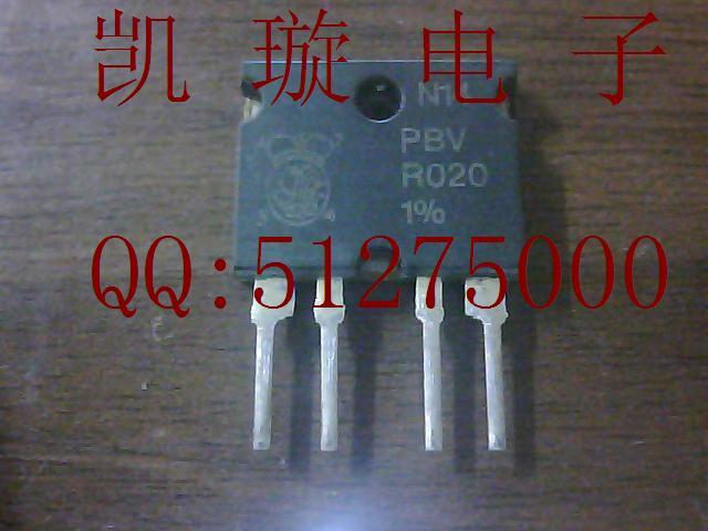 PBV-R022-1% PBV-R022 high-precision current-sense resistor PBV resistance 22 milliohms 1%