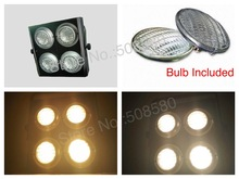 2pcs/Lot, Four Eyes Audience Light 4x650W =2600W LED Blinder Light 4 Eyes with 16 blubs included dj disco club bar party stage