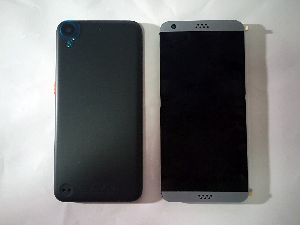 FOR New HTC Desire 530 lcd assembly the phones screen, with mast frame and the battery cover