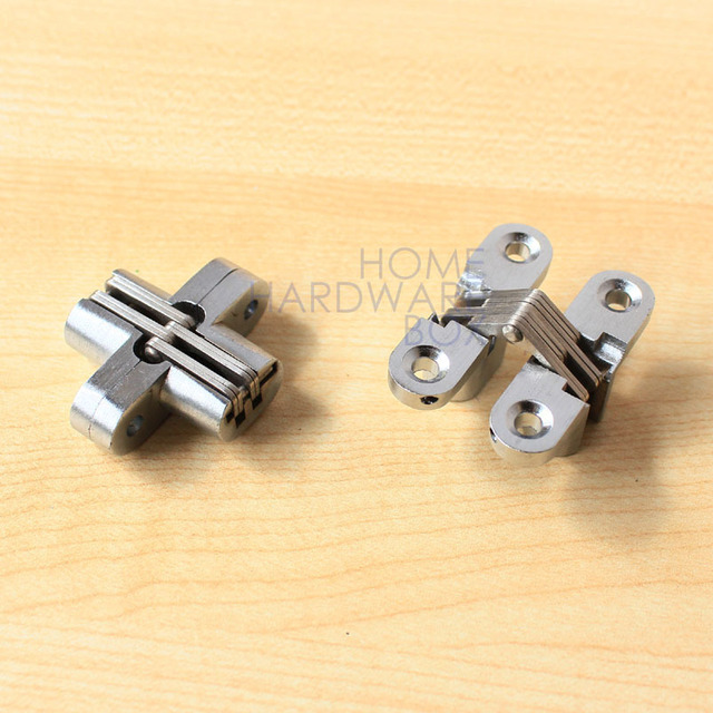 hidden box hinges. Pair Of Hidden Hinge Stainless Steel Invisible Concealed Hinges Wooden Box 45mm E