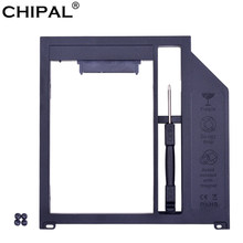 Chipal 10 pçs sata 3.0 2nd hdd caddy 9.5mm para 2.5