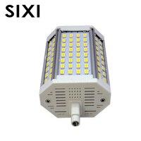 Затемнения R7S 30 W 118 мм Светодиодная лампа, прожектор R7S свет J118 R7S лампы без вентилятора без шума заменить галогенные лампы AC85-265V