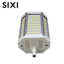 Bombilla led regulable R7S, 30W, 118mm, foco reflector R7S, lámpara J118 R7S sin ventilador, lámpara halógena de reemplazo sin ruido, AC85 265V