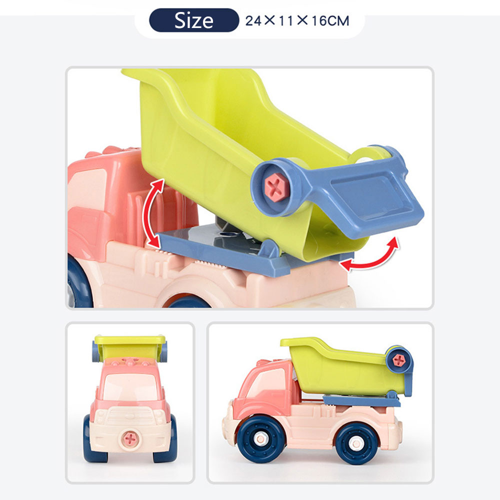 Новая модель автомобиля Пластиковый интерес Выращивание DIY автомобиль для подарка Прямая