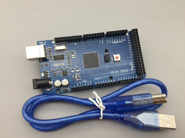 Arduino Compatible MEGA 2560 Rev3 CH340G with FREE USB Cable