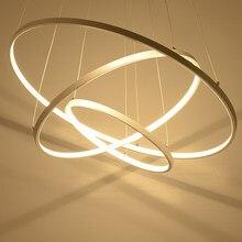 Moderno led lustre de acrílico luzes da lâmpada para sala jantar sala estar lampadario moderno lustre iluminação AC85-265V