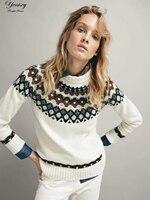 G1005U7 autumn new Europe and the United States money flower shoulder sleeve sweater 8868 #