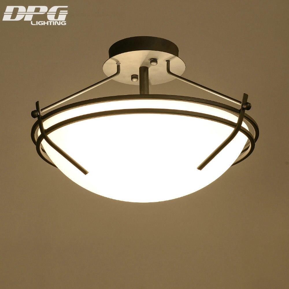 Modern Glass Ceiling Lighting Led Ceiling Fixtures Surface Mounted 3*E27 220V 110V Ceiling Lamp for Bedroom