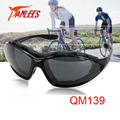 Venta caliente Panlees UV400 de protección a prueba de polvo a prueba de viento de espuma de la cara gafas de sol gafas de deportes al aire libre de Los Hombres