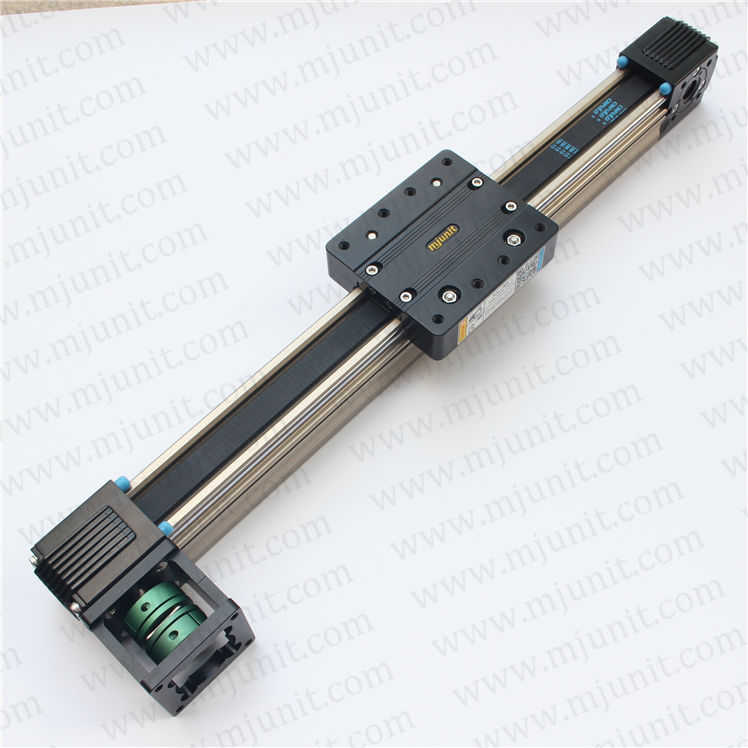 crossed roller positioning Components NANOMOVER Linear Stage , linear guideway toothed belt drive rail guideway manufacturer motorized stepper motor positioning linear stage