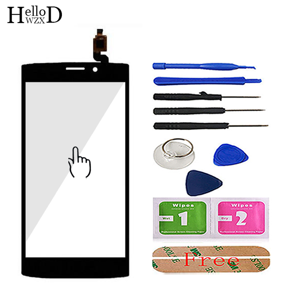 Mobile Phone Touch Screen TouchScreen For Philips S337 CT337 Touch Glass Front Glass Digitizer Panel Lens Sensor 3M Glue