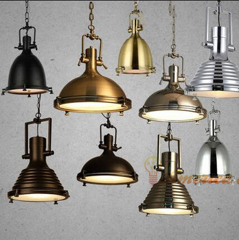 Heavy metal Cafe chandeliers modern post-industrial  Retro Bar Restaurant,material: iron,E27,AC110-240V
