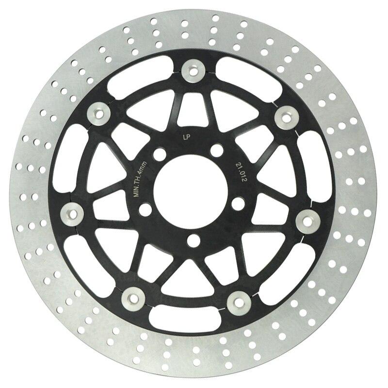 Motorcycle Front Brake Disc Rotors For KR 250 KR1989-1992, ZR 250 Balius 1991-2005, ZZ-R 250 1990-1995, ZR 400 Zephyr 1989-2005 motorcycle front brake disc rotors for suzuki drz400 2005 2011 universel