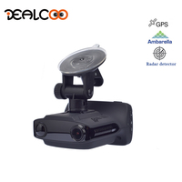 Dealcoo Hidden Car DVR Digital Video Recorder Radar Detector GPS Logger 3 In 1 1080P FHD