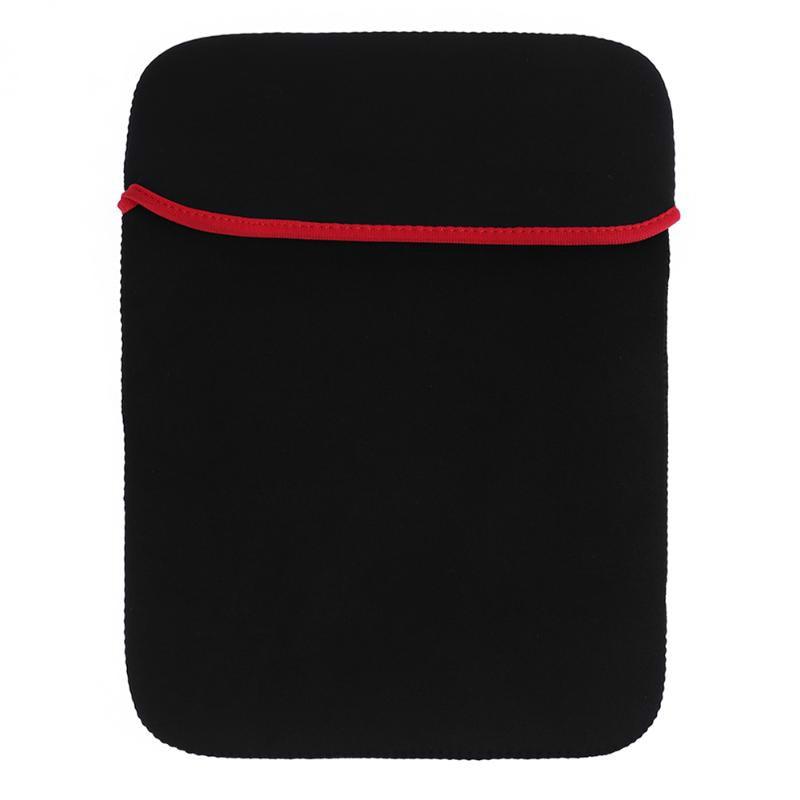 Shockproof Neoprene Laptop Bag For table 7 9.7 Protective Liner Sleeve Cover for Macbook Air pro 11 12 13 15 17 Notebook case okade skull pattern neoprene protective sleeve bag for 7 cell phone tablet pc white black