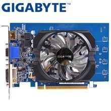 Gigabyte placa de vídeo original gt730 2 gb gddr5 placas gráficas para nvidia geforce gpu usado mais forte do que gt630 gt610 gt720 gt710