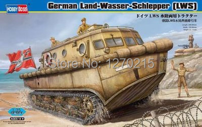 Hobby Boss 82430 1/35 German LWS Amphibious Tractor Early Production