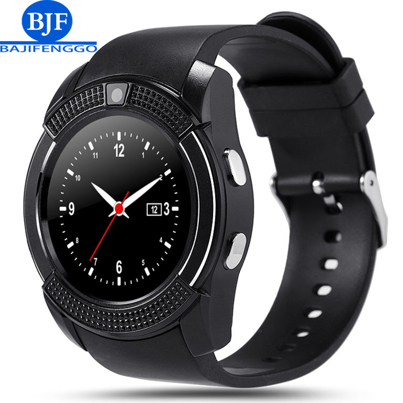 bluetooth smart watch for android phone PK GT08 GV18 A1 support SIM TF reloj inteligente sport