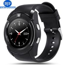 "Bluetooth smart watch para el teléfono android pk gt08 gv18 a1 apoyo sim/tf reloj inteligente reloj deportivo tasa de 1.22 ""tft"