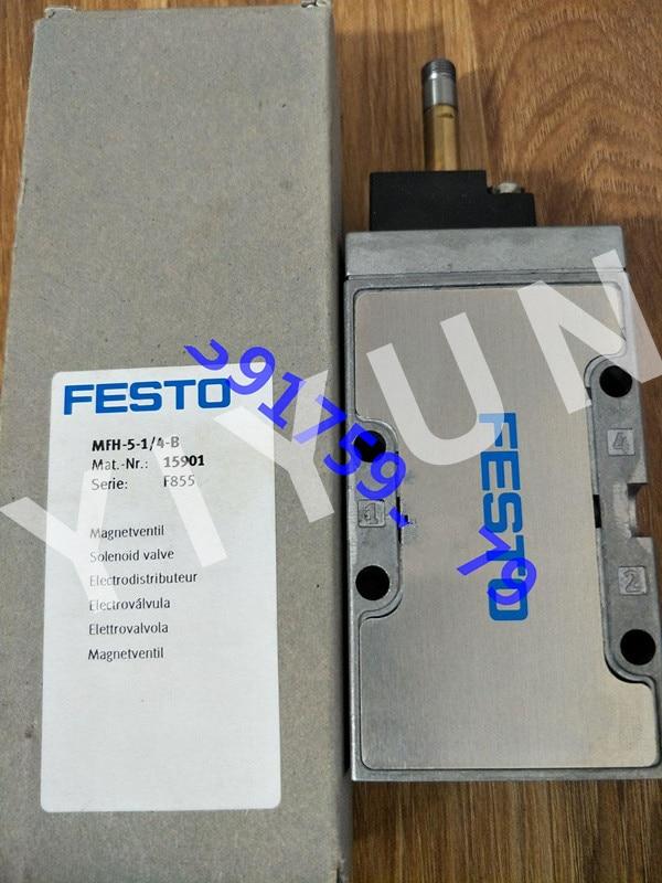 MFH-5-1/4 6211 MFH-5-1/4-B 15901 MFH-5-1/4-S 10349 MFH-5-1/4-S-B 15902 FESTO Solenoid valve цена 2017