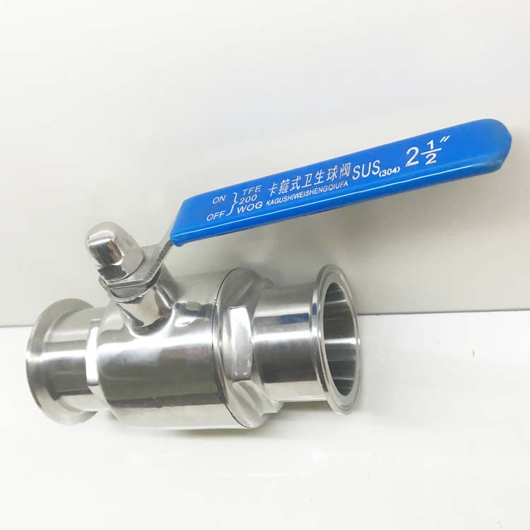 1 DN25 Sanitary Ball Valve with clamped ends,SS 304, ball valve stainless,stainless steel ball valve ,sanitary ball valve,