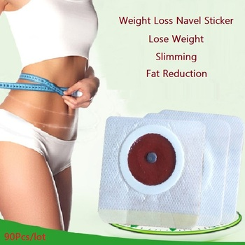 90Pcs Slim Patch Stomach Fat Burning Navel Stick Slimming Lose Weight Burn Fat Anti Cellulite Body Shaping Slimming Stickers