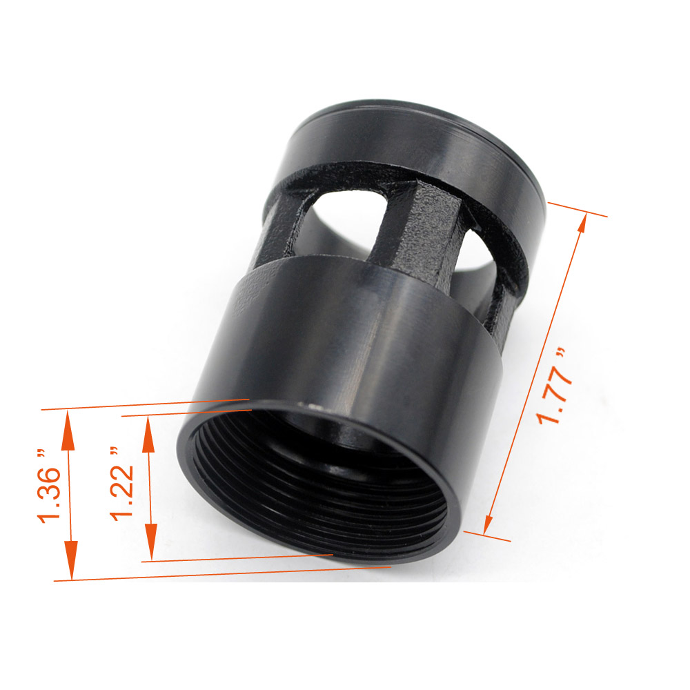 Aplus Steel Barrel Nut For Clamping Style Handguard Rail Mount System American/Metric Thread Spec.