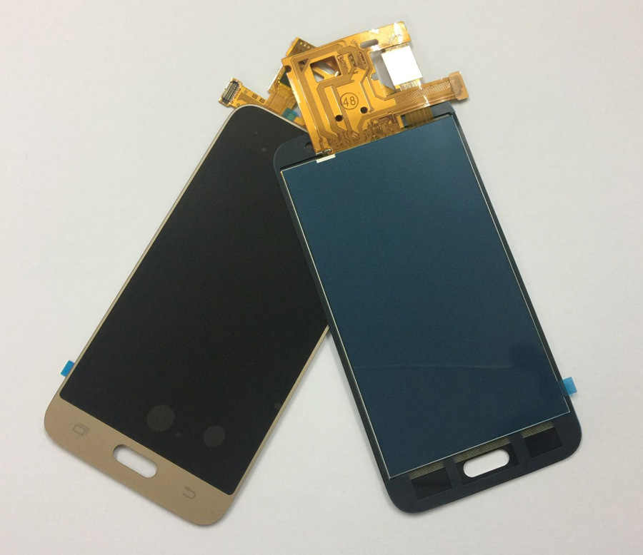 لسامسونج غالاكسي J1 2016 شاشة LCD J120 SM-J120F LCD J120M J120H/DS شاشة الكريستال السائل لوحة مجموعة المحولات الرقمية لشاشة تعمل بلمس