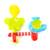 Fuente juguetes del baño del bebé juego de los niños niños de pulverización de agua submarino grifos baño bañera juguetes play sets dabblingl juguetes de regalo