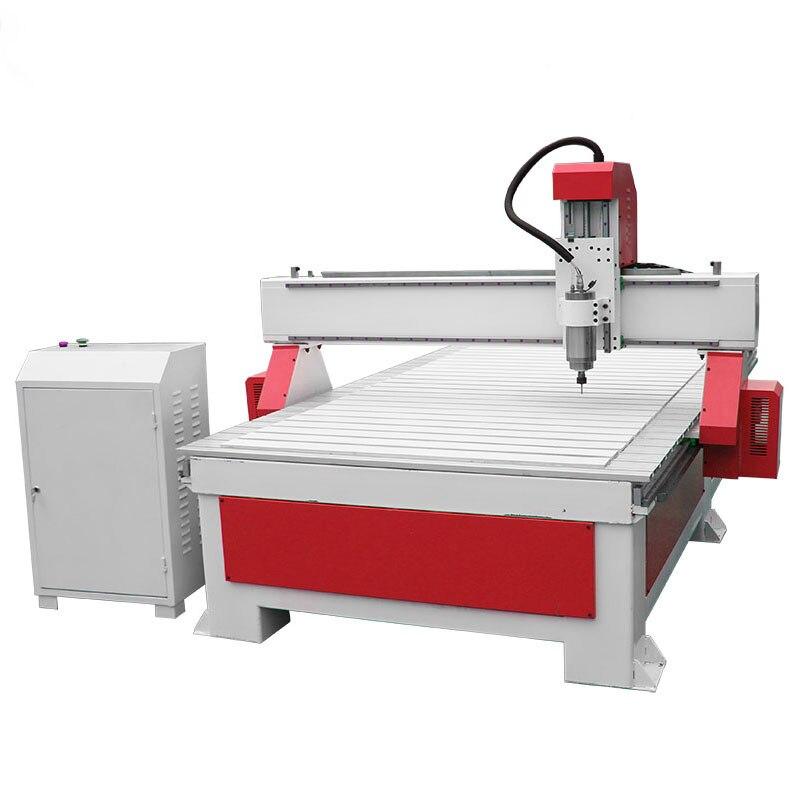 Mchuang 1325 2.2kw CNC routeur gravure sur bois machine à bois sculpture planer CE certificat moteur pas à pas